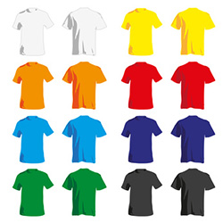 Textildruck T-Shirts günstig mit Firmenwerbung Hamburg, Berlin, Potsdam, Köln, Frankfurt